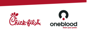 chick-fil-a and oneblood